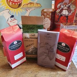 Sélection thés et cafés