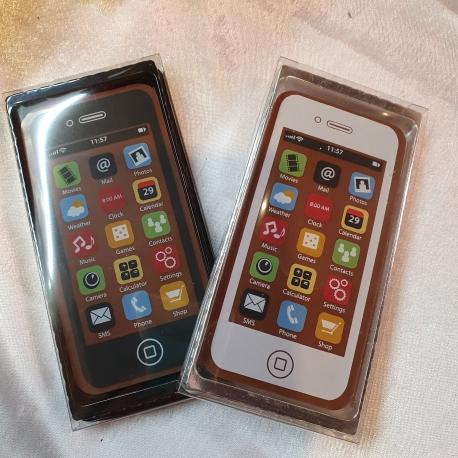 Téléphones portables chocolat