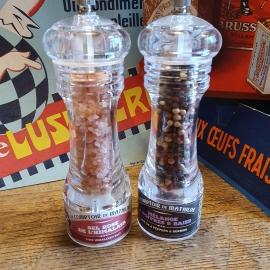 duo sel et poivre en moulin