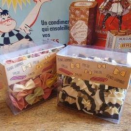 sélection de pasta fantaisies