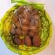 Amandes au chocolat et cacao