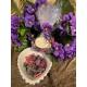 Assortiment de fleurs cristallisées