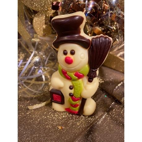 Bonhomme de neige chocolat blanc