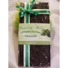 Tablette de chocolat noir menthe