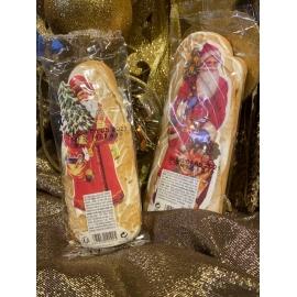 Lot de Père Noël au pain d'épices