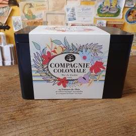 Coffret à offrir de 30 thés et infusions La compagnie coloniale