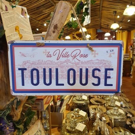 Plaque de Toulouse (La ville rose)