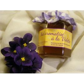 Miel aromatisé à la Violette