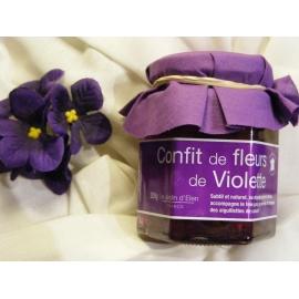 Confit de fleurs de Violette