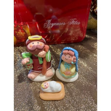 Sujets en sucre Crèche de Noël