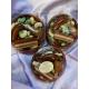 Cassoulet haricots nougatine et pâte d'amande