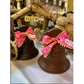 Cloches chocolat noir 70% de cacao 105 mm