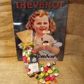 Bonbons fourrés pulpe de fruits