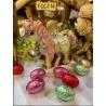 Licorne au chocolat au lait décoré