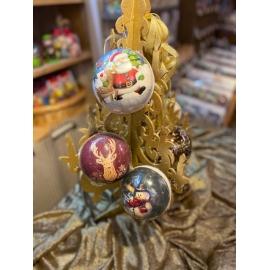 Boule de Noël en carton à garnir (à choisir)
